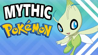 Top 10 BEST Mythical/Event Pokemon