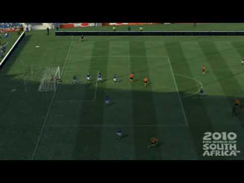 Rafael van der Vaart - 2010 FIFA World Cup goal