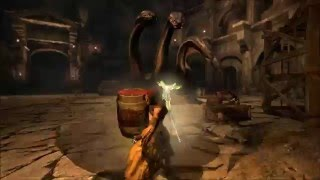 Dragon's Dogma: Dark Arisen PC - Hydra Barrel Trick