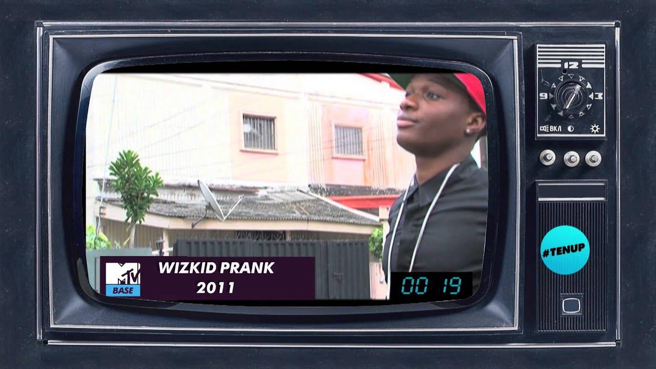 Download WIZKID PRANKED BY MTV BASE