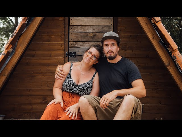 We're Burned Out Building Our Own Home   Off Grid in Portugal