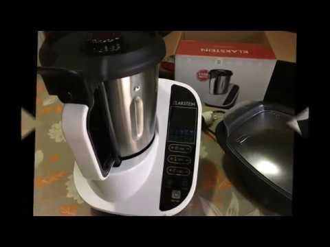 klarstein food circus robot da cucina multifunzione - youtube