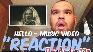 One of Dante D'Angelo's most viewed videos: Adele - Hello Music Video REACTION