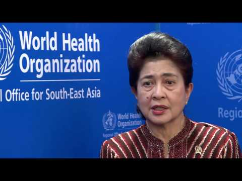 Interview with Professor Nila Moeloek, Minister of Health of the Republic of Indonesia