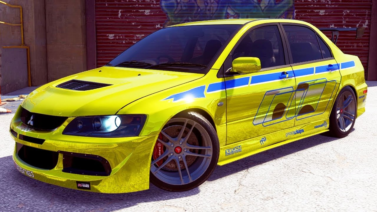 Brian Oconnors Evo NEED FOR SPEED PAYBACK...