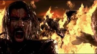 Крикс побеждает легион Ария.Спартак:Война проклятых.