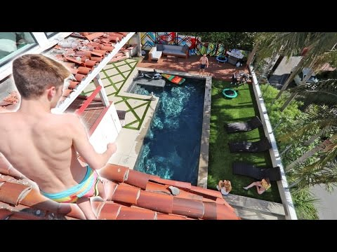 Thumbnail: HE LET ME JUMP OFF THE ROOF! *COOLEST HOUSE EVER*