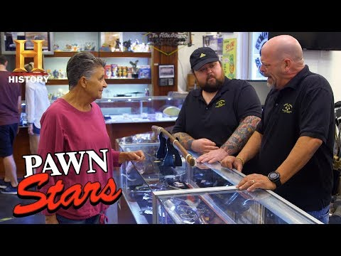 Pawn Stars: 1863 Japanese Katana Ceremonial Sword Season 15  History