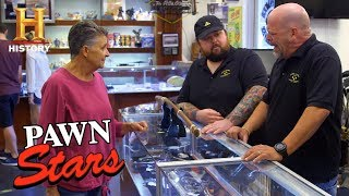 Pawn Stars: 1863 Japanese Katana Ceremonial Sword (Season 15) | History