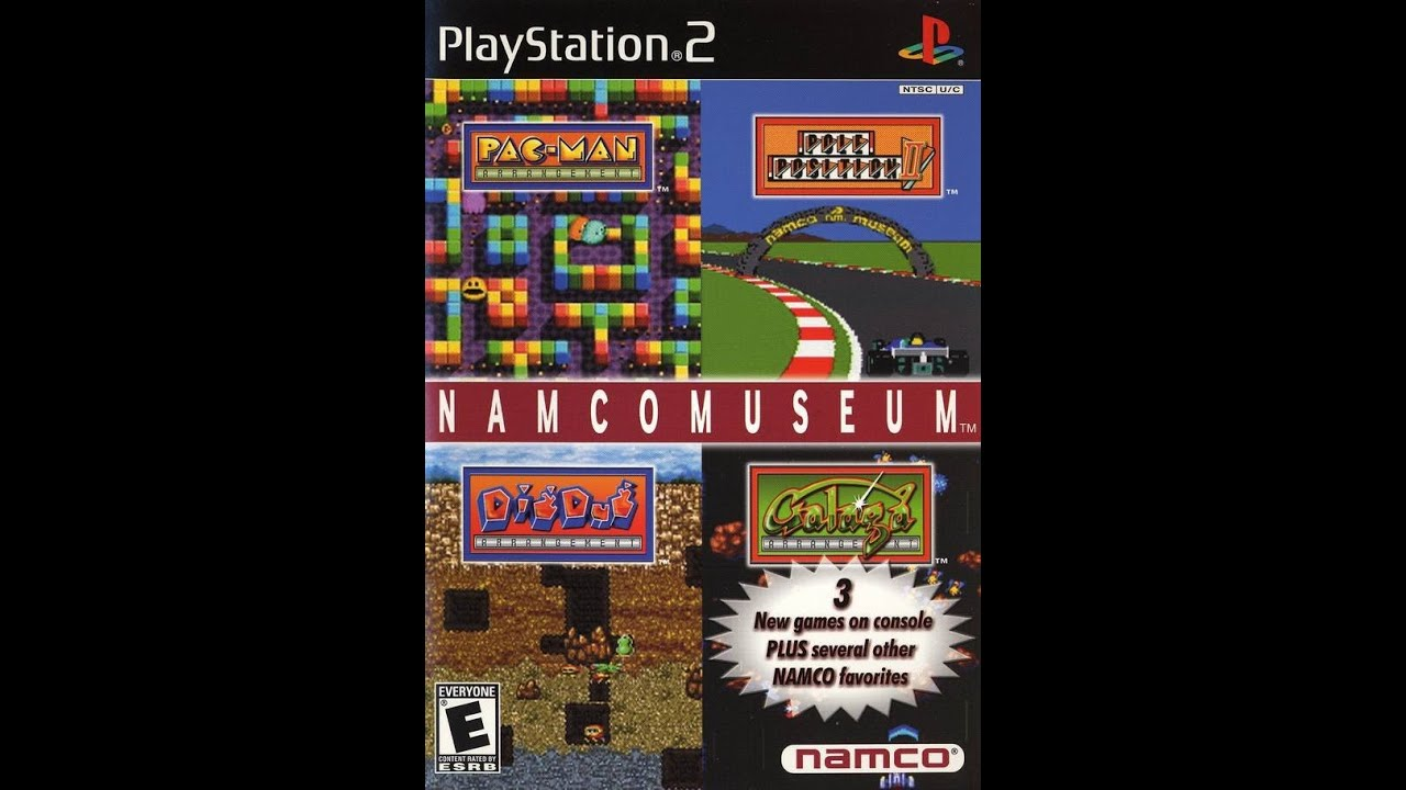 Classic ps2 game namco museum on ps3 in hd 1080p youtube for Classic 90 s house music list