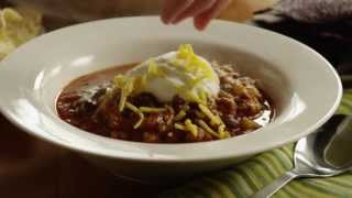 Chili Recipe - How to Make Chili