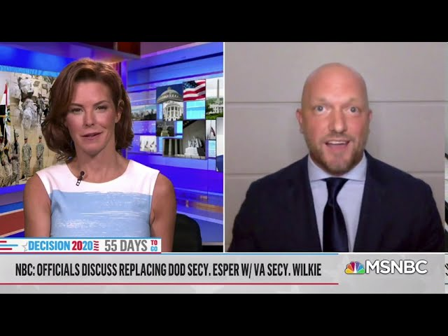 RIECKHOFF ON WITH MSNBC'S STEPHANIE RUHLE - SEPTEMBER 9, 2020