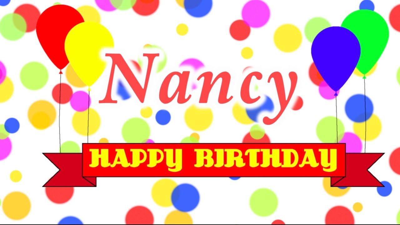 Happy Birthday Nancy Song Youtube
