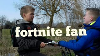 Fortnite fan in real life (official Music Video)