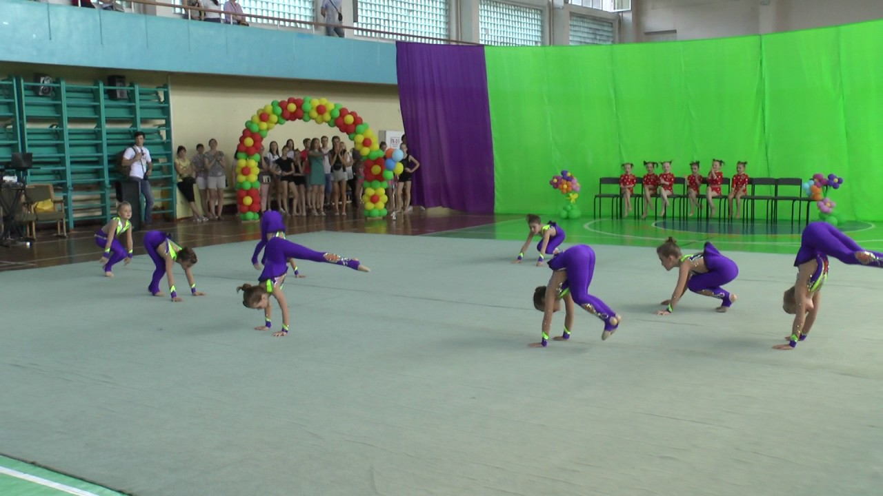 Эстетическая гимнастика. Одесса-2017. групповые упражнения