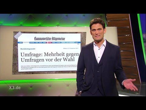 Christian Ehring: Umfragen über Umfragen vor den Wahlen | extra 3 | NDR