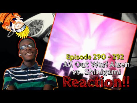 KOMAMURA A.K.A. NARUTO VS. TOSEN A.K.A. SASUKE!! Bleach: Episode 290 - 292 REACTION!!