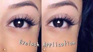How to apply false eyelashes | 2018