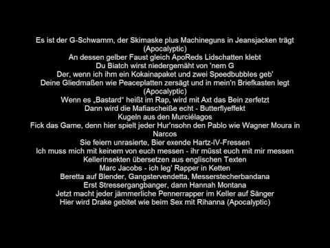 SpongeBOZZ - SFTB Apocalyptic Infinity Lyrics