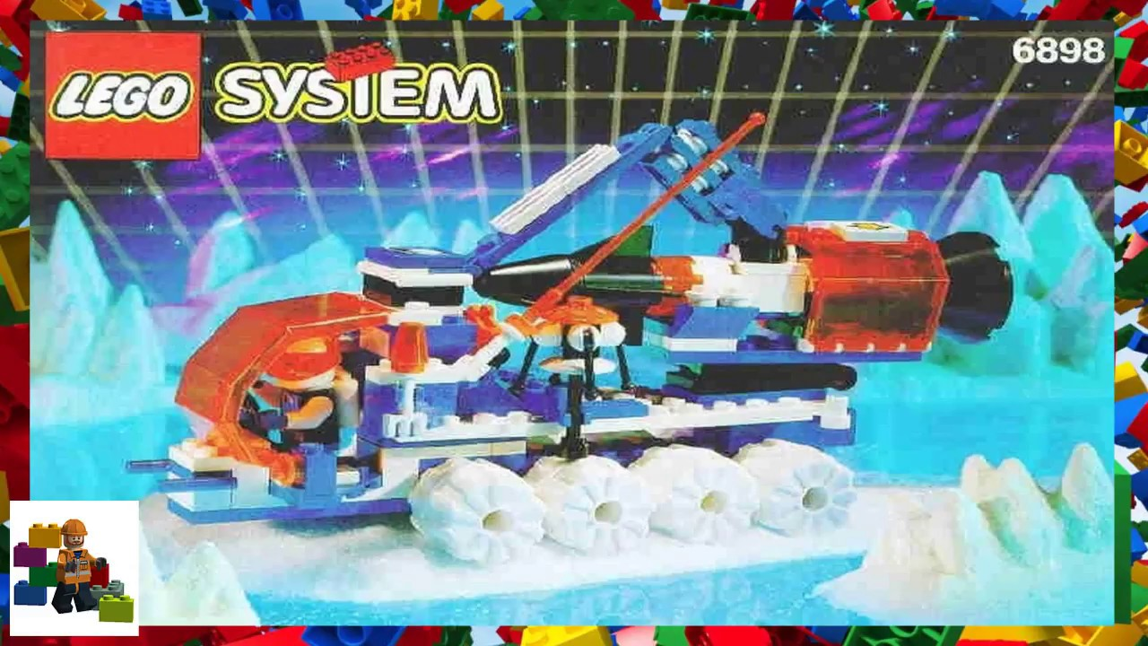 lego instructions space ice planet 2002 6898 ice sat v - 6898