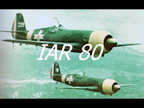 Warplane History - IAR 80