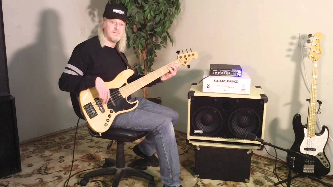 Avatar B210 Bass Guitar Speaker Cabinet Demo Eminence Delta Pro 10 ...