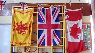 A Few Of My Flags At Trinity RC School Newark-On-Trent