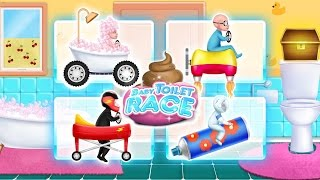 Baby Toilet Race: Cleanup Fun 💩🚽