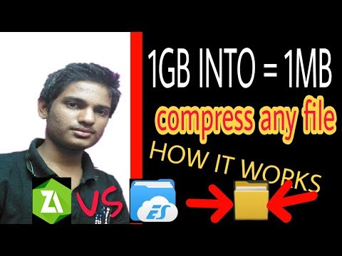 How To Compress Any File ,PDF From Android||by Indian YouTuber Indianyoutuber