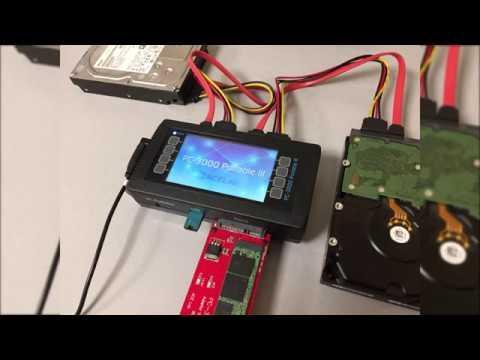 PC3000 Portable III - кратко о функционале Standalone Version