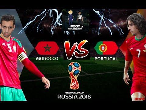 MAROC VS PORTUGAL ! COUPE DU MONDE 2018