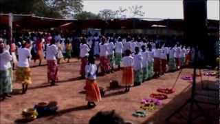Wau Town, Confirmation Mass at st. Joseph Church Part 1.wmv