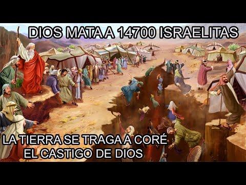 El CASTIGO De DIOS Para Los REBELDES De ISRAEL (Números 16)