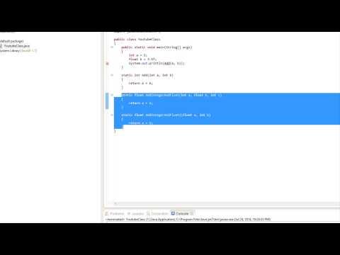 java-made-easy-tutorial-20---method-overloading