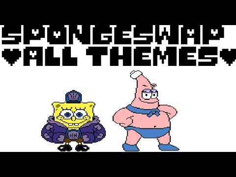 SpongeSwap: All Boss Themes (UnderTale-SpongeBob AU)