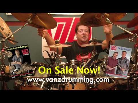 How to Play Drums - Building the Drum Solo Part 1 - Vanz Drumming - Randy Van Patten