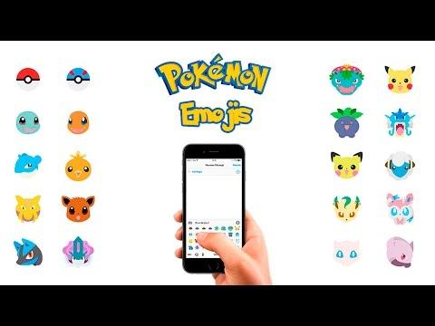 Pokemon Emoji Keyboard For IOS & Android   Download Emoji