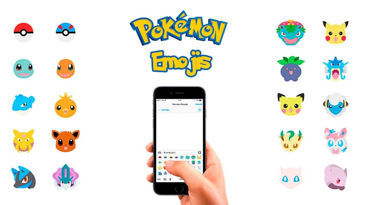 Pokemon Emoji Keyboard For Ios Amp Android Download Emoji