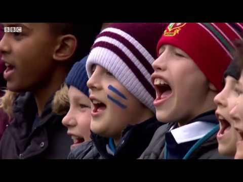 Anthems - Scotland vs Italy [6N 5th Rd 2017]