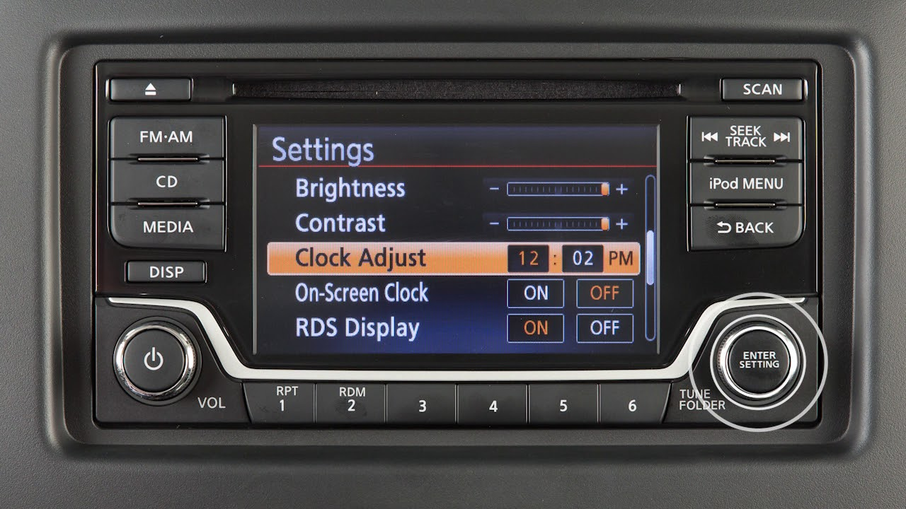 Nissan Sentra Owners Manual: FMAM radio with compact disc (CD) player (if so equipped)