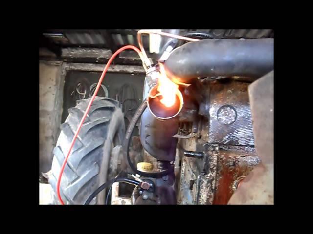 Świeca płomieniowa -U-R-S-U-S-  C-360 (test)