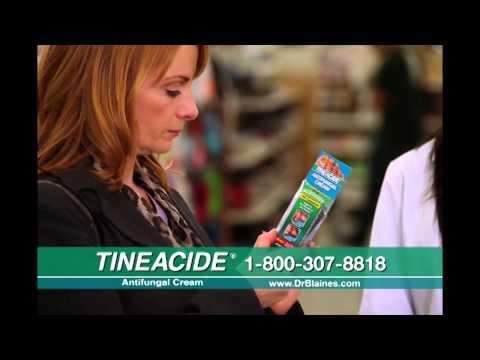 Tineacide Antifungal Cream Commercial, 2011