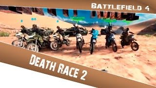 Battlefield 4: Death Race #2  (Russian language)
