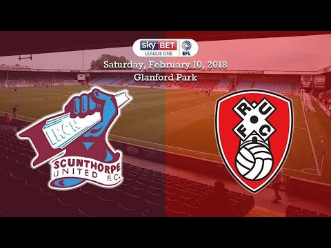 Scunthorpe United Vs Rotherham United - Match Day Experience