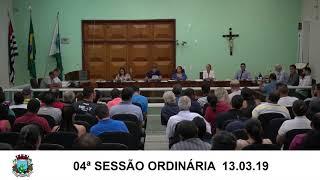 Sessão da Câmara  13.03.19