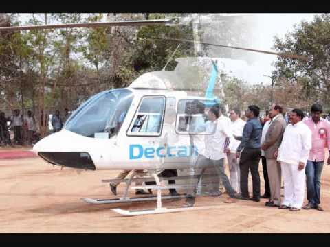 KTR Inaugurated Helicopter Joy Ride in Hyderabad | hybiz