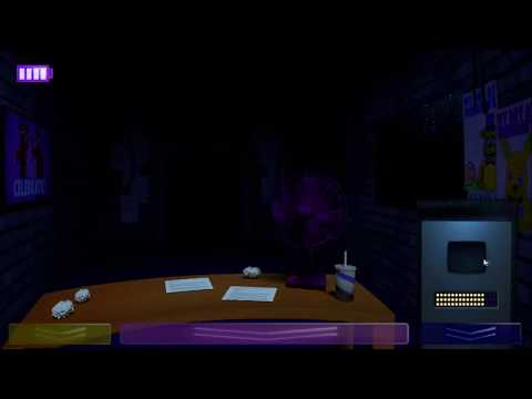 FredBear And Friends: Out Of The Machine: Night 1 DONE