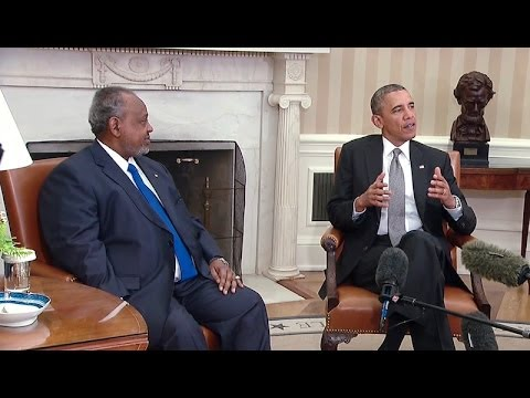 President Obama's Bilateral Meeting with President Guelleh of Djibouti