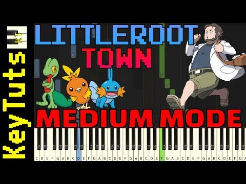 Download Learn to Play Littleroot Town from Pokemon Ruby and Sapphire - Medium Mode