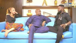 ON THE COUCH WITH FALZ & LAILA :: S.1 EP.1 :: FELA DUROTOYE